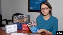 Luz Figuereo Irazabal explica en que consiste la nueva prueba.