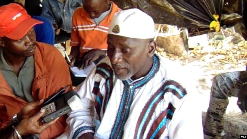 Salif Sadio, líder Movimento Frente Democrática Casamance