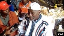 Salif Sadio, lider do Movimento Frente Democrática Casamance