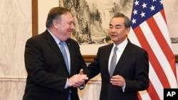 Міністр закордонних справ Китаю Вонг Йі та Держсекретар США Майк Помпео