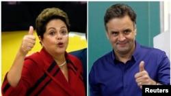 Dilma Rousseff del Partido de los Trabajadores y Aecio Neves del Partido Social Cristiano de Brasil se enfrentarán en segunda ronda el 26 de octubre.