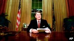 Рональд Рейган в Белом доме
