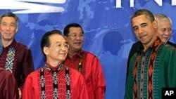 صدر براک اوباما کی ایشیائی راہنماؤں سے ملاقاتیں
