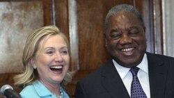 سفر هیلاری کلینتون به زامبیا