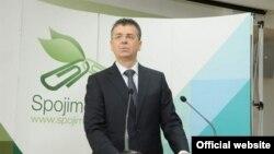Ministar održivog razvoja i turizma Crne Gore Branimir Gvozdenović govori povodom Dana životne sredine (Autor: Ministarstvo održivog razvoja i turizma)