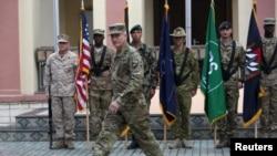 افغانستان میں مشن کمانڈر امریکی جنرل جان نکلسن (فائل فوٹو)