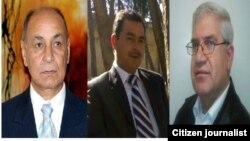 Mehmûd Ebbas, Ferhad Baqir û Azad Kobanî