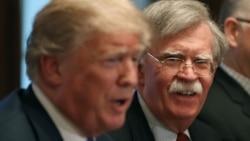 အမ်ဳိးသားလံုၿခံဳေရး အႀကံေပး John Bolton ကို သမၼတ Trump ရာထူးကဖယ္ရွား