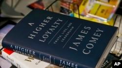 جیمز کومی کی کتاب کا سرِورق