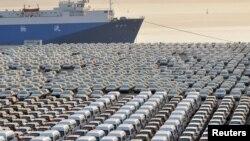 چین کی گاڑیاں برآمد کیلئے تیار