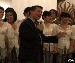 Gubernur Sulawesi Utara menyumbangkan lagu bersama Gema Sangkakala.