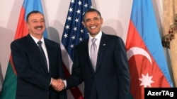 Prezidentlər İlham Əliyev və Barak Obama