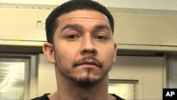 This photo provided by the Albuquerque Police Department shows Tony Torrez. Torrez was arrested October 21, 2015, and acknowledged shooting 4-year-old Lilly Garcia while she was riding in the backseat of her father's pickup truck with her 7-year-old brother a day earlier, police said.