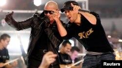 Pitbull y Enrique Iglesias recorrerán 16 escenarios en gira por EE.UU. y Canadá.