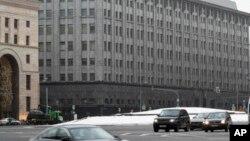 Штаб квартира ФСБ в Москве