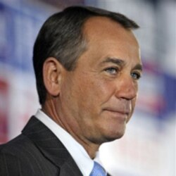 House Republican leader John Boehner of Ohio after his party's victory in the midterm elections