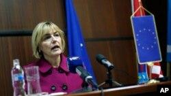 Ministarka inostranih poslova Hrvatske Vesna Pusić (arhivski snimak)