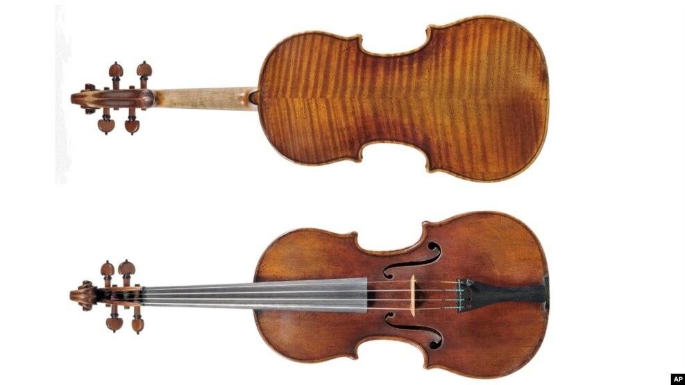 Prodhimi i violinave nga mëndafshi i merimangës