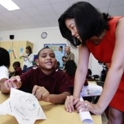 Michelle Rhee, who resigned last year as chancellor of the Washington, DC, public schools, created the IMPACT system