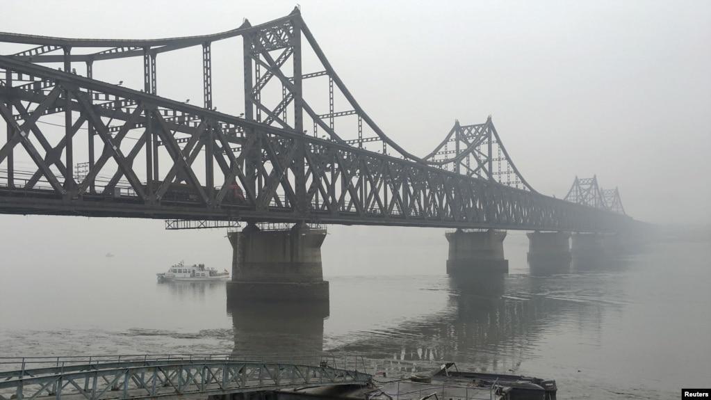 連接丹東和朝鮮的大橋(資料照)