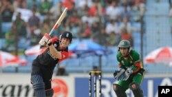 بنگلہ دیش نے انگلینڈ کو دو وکٹوں سے ہرا دیا تھا