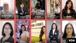 NATIONAL FINALISTS FOR ASEAN-US SCIENCE PRIZE FOR WOMEN 2020