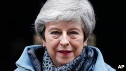 Waziri mkuu wa Uingereza Theresa May