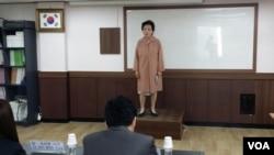 한국 내 탈북민들을 위한 제3회 물망초 시 낭송대회가 열렸다.