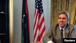 کریستوفر استیونس سفیر سابق آمریکا در لیبی در خانه اش در طرابلس- ژوئن ۲۰۱۲