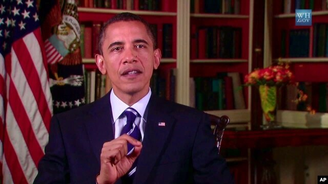 President Barack Obama delivers his weekly address 14 Aug 2010