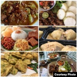 Berbagai hidangan yang ditawarkan oleh Lely's Kitchen (foto courtesy)