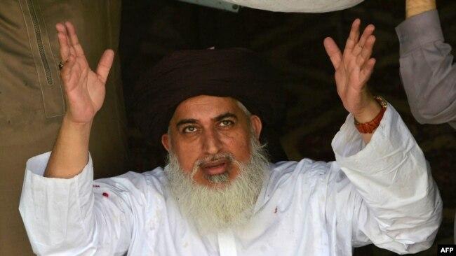 تحریک کے بانی خادم حسین رضوی گزشتہ سال انتقال کر گئے تھے۔