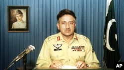 Prevez Musharaf, former Pakistani president