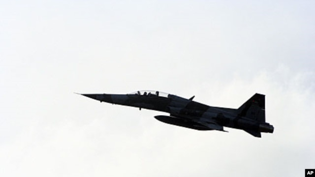 A Kenyan F5 fighter jet (file photo)