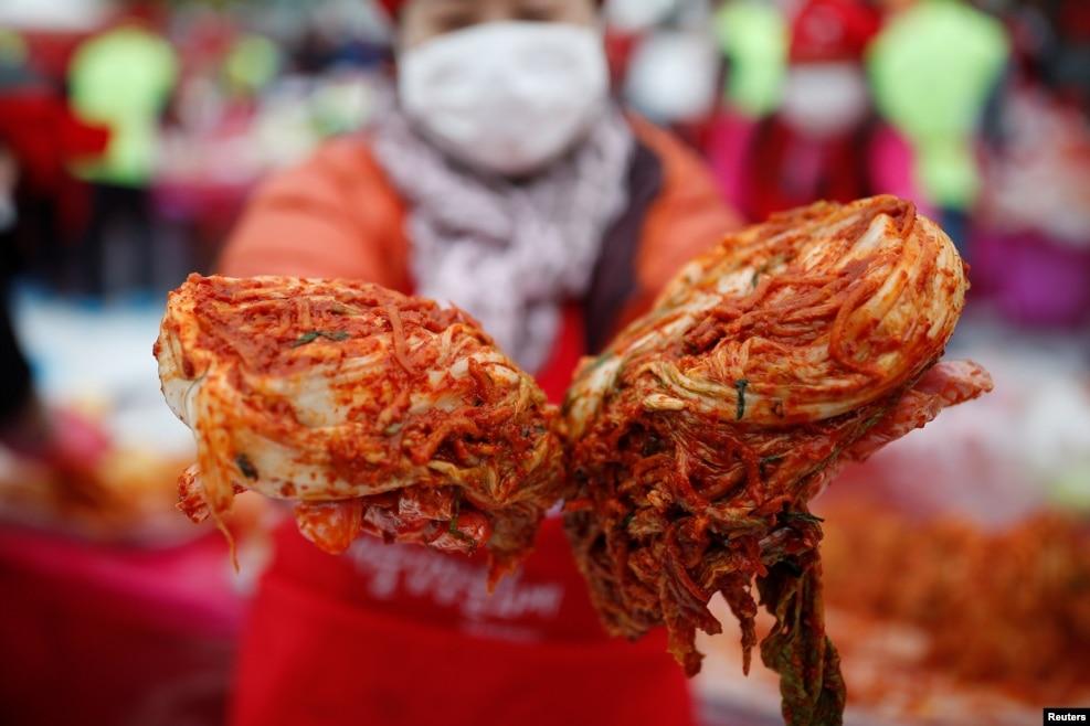 Cənubi Koreyada Kimçi festivalı.