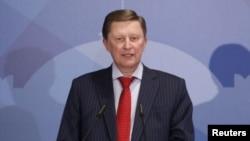Sergei Ivanov, jefe de gabinete del presidente ruso, Vladimir Putin.