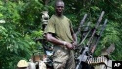 As forças de Gbagbo sofreram uma série de derrotas
