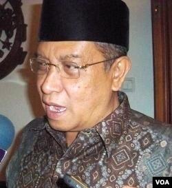 Ketua PBNU KH Said Aqil Siradj, memimpin Deklarasi Lembaga Persahabatan Ormas Islam (21/10).