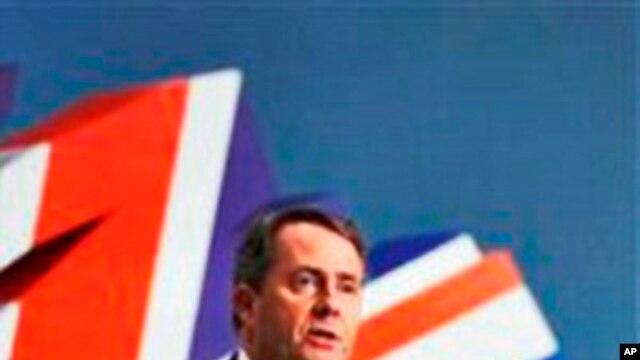Britain's defense secretary  Liam Fox (File Photo)