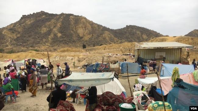 Deslocados das Salinas, Benguela