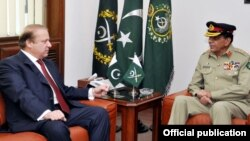 نواز شریف اور جنرل کیانی کی درمیان ملاقات