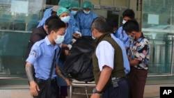緬甸一名年輕的女抗議者在上星期的抗議活動中被警察開槍擊中頭部死亡。(2021年2月19日)