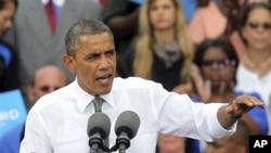 美國總統奧巴馬星期一在俄亥俄州宣佈就中國補貼汽車與汽車零部件出口向世貿組織投訴。