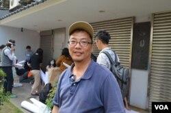 台大人文创新与社会实践计划博士后研究员 (美国之音申华拍摄)