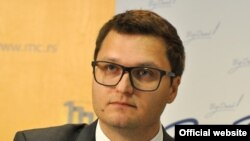 Raša Nedeljkov, programski direktor nevladine organizacije CRTA (Foto: Medijacentar Beograd, mc.rs).