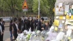 南韓安山市學校在渡輪遇難後恢復上課