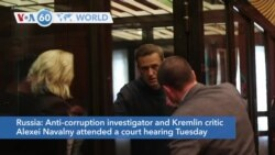 VOA60 Addunyaa - Russian Dissident Navalny Faces Possible Multi-Year Prison Sentence