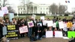 راهپیمایی دانش آموزان در واشنگتن