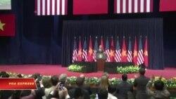 Báo nhà nước né tránh phát biểu về nhân quyền của TT Obama