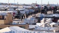 Suriyanın qaçqın düşərgəsində İŞİD qalıqları hədəf alınıb